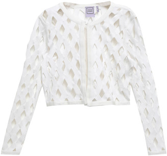 Herve Leger Cutout Knitted Jacket