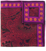 Etro printed pocket square - men - Silk - One Size
