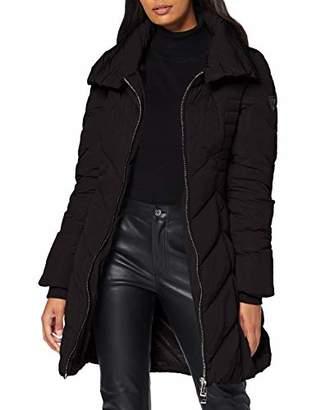 GUESS Women's Payton Down Jacket Coat, (Jet Black A Jblk)