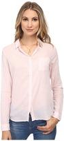 Maison Scotch Relaxed Fit Longer Length Shirt in Seersucker Fabric