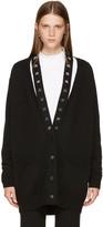 Givenchy Black Cashmere Stars Cardigan