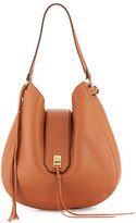 Rebecca Minkoff Darren Leather Hobo Bag, Almond