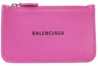 Balenciaga Everyday Leather Zip Card Case