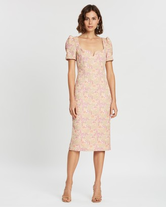 Rebecca Vallance Stella Midi Dress