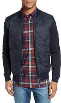 Barbour BI Quilt Front Knit Track Jacket