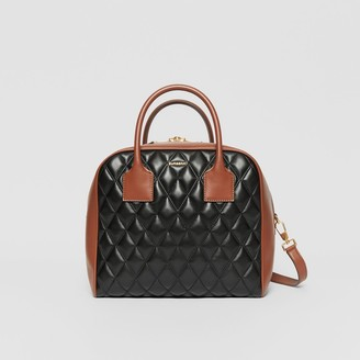 Burberry Medium Quilted Lambskin Cube Bag