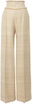 Martin Grant High Waisted Fringe Tweed Trouser