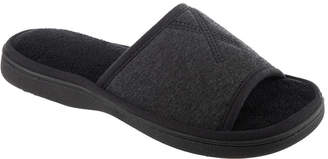 Isotoner Women Heathered Jersey Slide Slipper, Online Only
