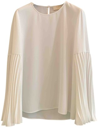 Sara Battaglia White Top for Women