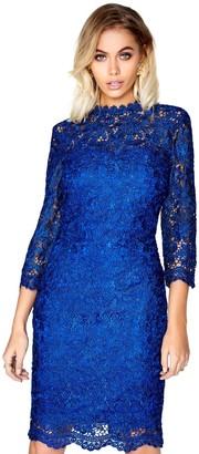 Paper Dolls Outlet Blue Lace Dress