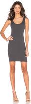 Enza Costa Rib Tank Mini Dress