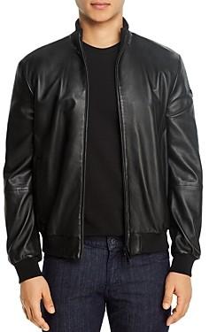Giorgio Armani Emporio Leather Jacket