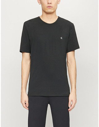 Calvin Klein Pack of two stretch-cotton T-shirts