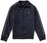 Ralph Lauren Big Girls 7-16 French Terry Track Jacket