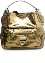ANYA HINDMARCH Beverly Broken Mirror Handbag in Bronze