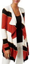 I.N.C International Concepts Wool-Blend Colourblocked Cardigan