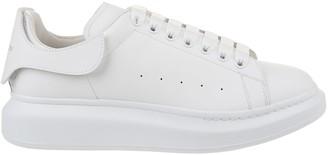 Alexander McQueen Oversized Contrasting Heel Platform Sneakers