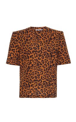 ATTICO Printed Cotton-Jersey T-Shirt