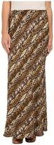Roper 9907 Aztec Print Rayon Maxi Skirt
