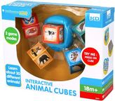 Kidz Delight Smithsonian Kids Interactive Animal Cubes