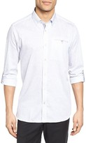 Ted Baker Men's Lolli Extra Slim Fit Faded Check Print Sport Shirt