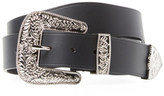 Givenchy Casual Embossed Buckle Belt