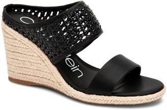 Calvin Klein Brooke Espadrille Wedge Sandal
