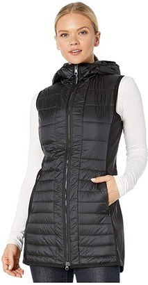 Obermeyer Miriam Hybrid Vest (Black) Women's Clothing