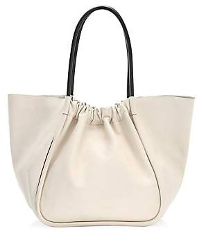 Proenza Schouler Women's Extra-Large Ruched Leather Tote