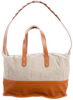 See by Chloe Leather-Trimmed Canvas Tote