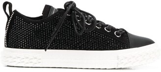 Giuseppe Zanotti Studded Low Top Trainers