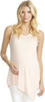 Motherhood Jessica Simpson Back Interest Maternity Top