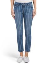 Discharge Stripe Print Jeans