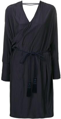 Lanvin Wrap Midi Dress