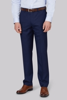 Ted Baker Tailored Fit Navy Two Tone Trousers