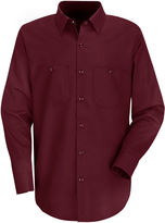 JCPenney Red Kap Industrial Solid Work Shirt-Big & Tall