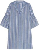 Splendid Dolman Cotton-Jacquard Mini Dress