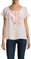 Nanette Lepore Floral Bounty Silk Blouse