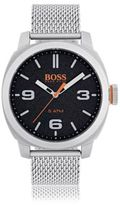 HUGO BOSS 1550013 Mesh Bracelet Strap Quartz Watch One Size Assorted-Pre-Pack