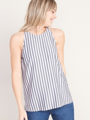Old Navy Sleeveless High-Neck Striped Top for Women