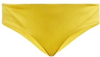 Mara Hoffman Nora Hipster Bikini Briefs - Womens - Yellow