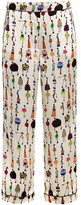 Giles Giles girls printed trousers