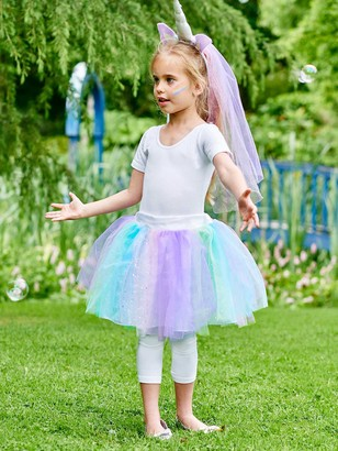 Travis Designs Unicorn Tutu Children's Costume, 8-12 years