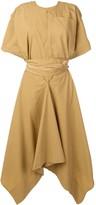Golden Goose asymmetric midi dress