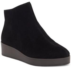 Lucky Brand Women's Karmeya Leather Booties Women's Shoes