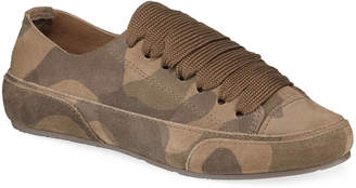 Pedro Garcia Pavel Lace-Up Camo Sneakers