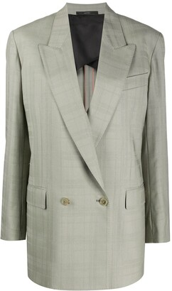 Paul Smith Double Breasted Long-Line Blazer