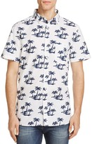 Sovereign Code Ky Palm Tree Regular Fit Button-Down Shirt