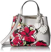 GUESS Britta Floral Small Society Satchel