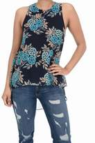 Aryeh High-Low Floral Top